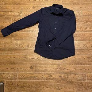 Marc Anthony | Men's Navy Dress Shirt